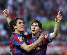Bojan cree que la etiqueta de 'nuevo Messi' pesó demasiado. FCBarcelona
