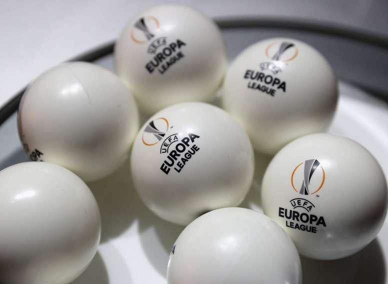 Estos son los bombos del sorteo de la Europa League. EuropaLeague