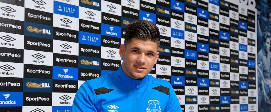 El último fichaje del Everton es un joven francés de sólo 19 años. Everton