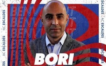 El ex malaguista Bori Moreno, de Rumanía a Andorra. Instagram/ACEscaldes