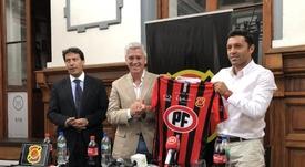 Boris González volverá la próxima semana a su cargo. Twitter/Rangersdetalca_