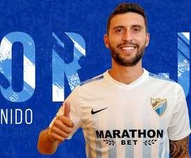 Borja Bastón, nouvelle recrue du Málaga CF. MalagaCF
