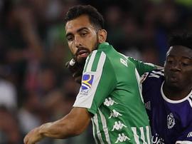Borja Iglesias pourrait revenir contre Leganés. EFE