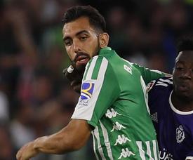 Borja Iglesias sera là face à Leganés. EFE