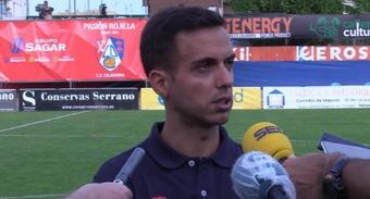 Borja Jiménez necesita un nuevo lateral derecho tras la lesión de Trilli. Captura/RCDeportivo