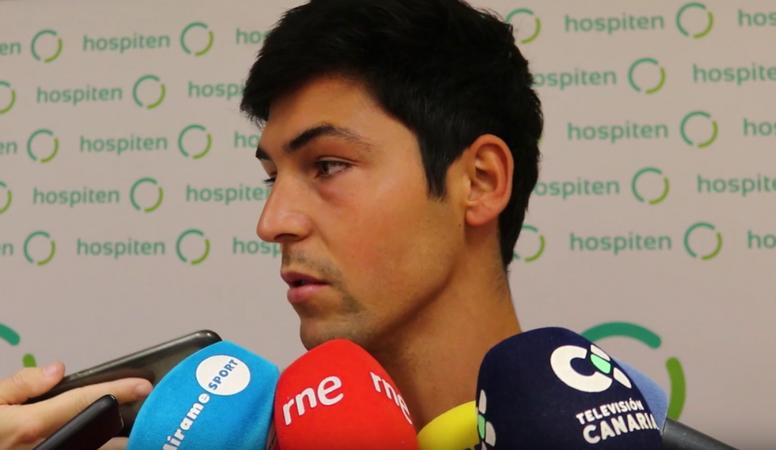 Borja Lasso espera técnico ya. Youtube/CDTenerife