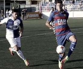 El Ebro ganó los tres primeros puntos gracias a Borja Rubiato. Ebro