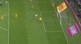 Title Original: Boselli marca do segundo gol do Corinthians. Captura