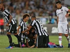 Botafogo desperdició un 2-0. Botafogo