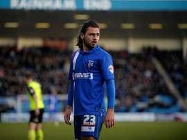 El conjunto de la League One ha conseguido atar a un joven delantero. GillinghamFC