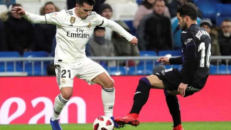 Brahim cuenta con la confianza de Zidane. EFE