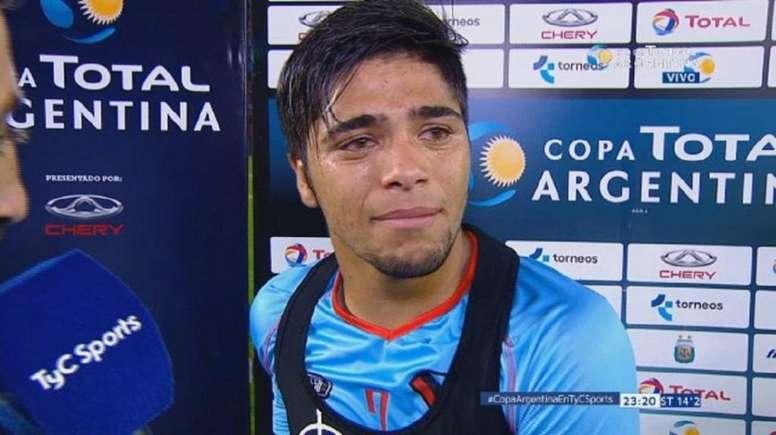El delantero brilló ante Independiente. TyCSports