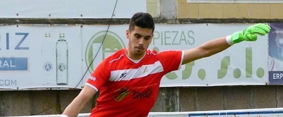 Brais Pereiro, ex guardameta del Coruxo, firma por el Racing de Ferrol. CoruxoFC