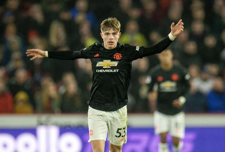 O jovem do United está a ponto de sair emprestado. EFE