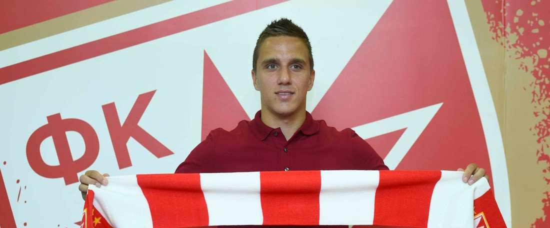 Jovicic deja la competición rusa y firma por el Estrella Roja. FKCrvenaZvezda