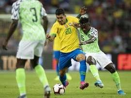 Suivez le direct du match Brésil-Corée du sud. Twitter/@CBF_Futebol