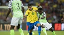 Brasil empata com Nigéria em 1 a 1 em jogo amistoso no dia 13/10/19. Twitter/@CBF_Futebol
