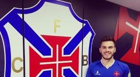 Chelsea loan Belenenses Nathan. Twitter