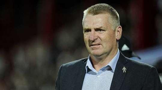Dean Smith left Brentford to join Aston Villa. Twitter/BrentfordFC