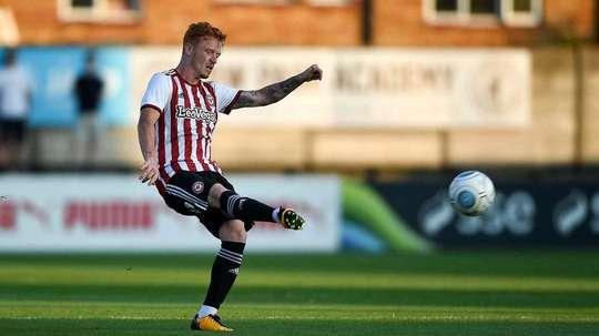 Brentford's Ryan Woods could join Stoke City. BrentfordFC
