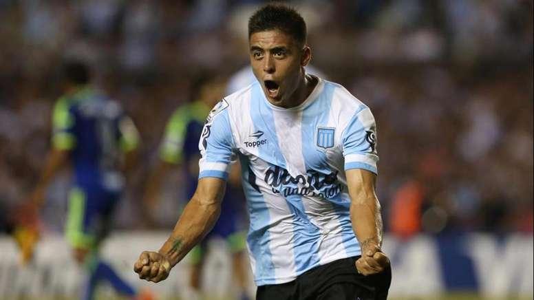 El conjunto argentino pierde a su centrocampista para las próximas semanas. RacingClub
