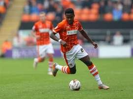 Bright Osayi-Samuel está brillando en el Blackpool. BlackpoolFC