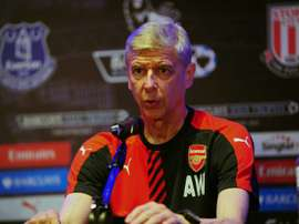 British Premier League football club Arsenal manager Arsene Wenger speaks during a press conference for the Barclays Asia Trophy 2015 (BAT) in Singapore on July 14, 2015.