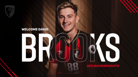 Brooks joined Bournemouth from Sheffield United. Twitter/afcbournemouth