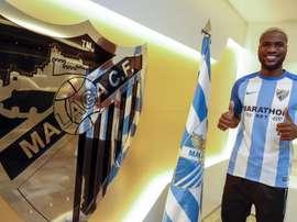 El nigeriano será el hombre gol del Málaga. MalagaCF