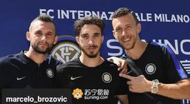 Perisic fait un appel du pied à Modric. Instagram/IvanPerisic444