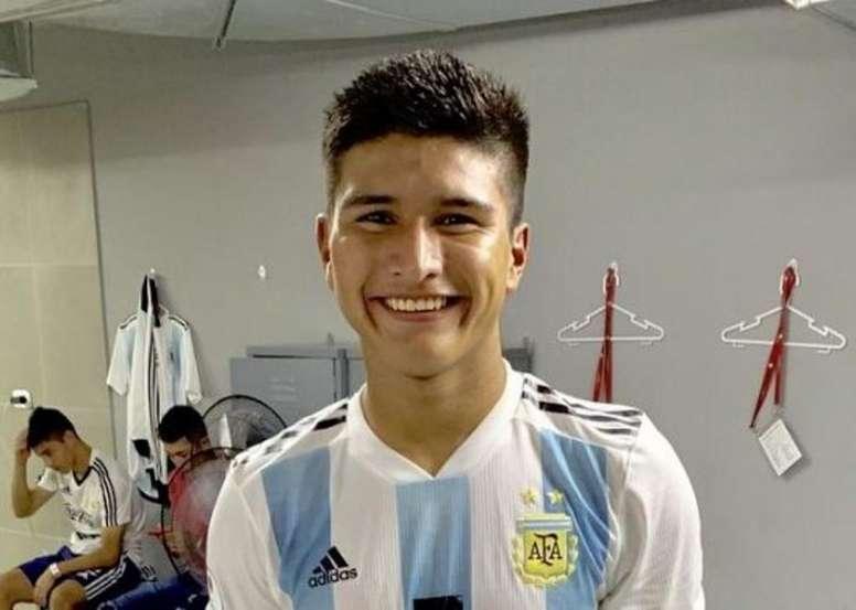 El héroe de la Sub 17, operado con éxito. Twitter/Argentina