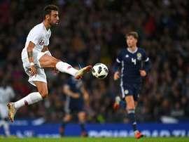 Bruno Fernandes é cortado da Seleção. AFP