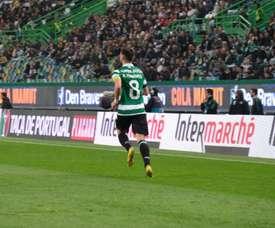 Bruno Fernandes custará 55 milhões e dois jogadores. Twitter@Sporting_CP