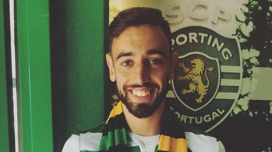 Bruno Fernandes regressa a Alvalade. Twitter/SCP