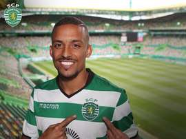Bruno Gaspar é apresentado como novo reforço do Sporting CP. Twitter/SCP