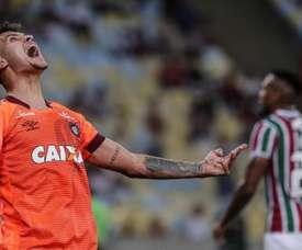 Bruno Guimaraes a rejeté un gros salaire pour partir à l'Atlético. EFE