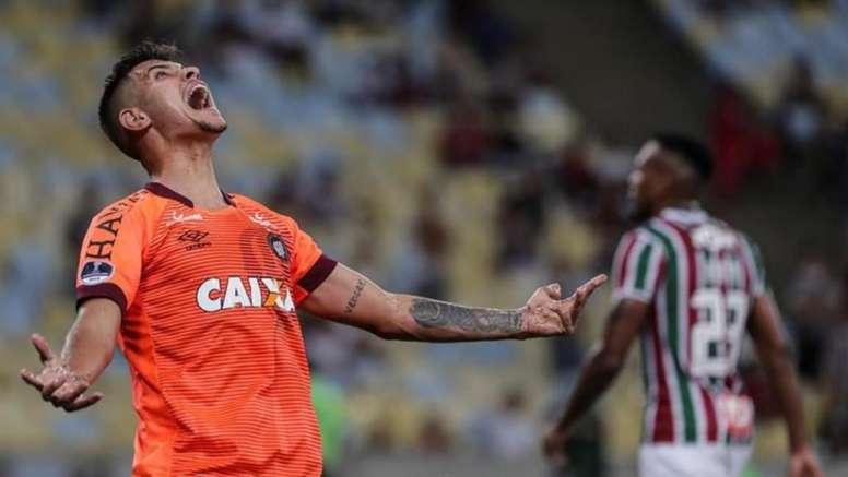 Bruno Guimaraes confirme l'intérêt de l'Atlético. EFE