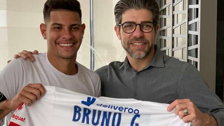 Bruno Guimaraes has signed for Lyon until 2024. OL