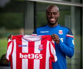 Bruno Martins Indi signed a five-year-deal with Stoke City. Twitter/Stoke