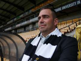 Bruno Ribeiro, entrenador del Port Vale para los tres próximos años. PortVale