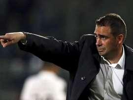 Bruno Ribeiro sólo ha durado 25 días como entrenador del Académico de Viseu. AFP
