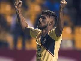 Valdez anotó el primer gol del América. ClubAmérica