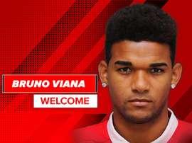 Bruno Viana, presentado como nuevo jugador del Sporting de Braga. SCBraga