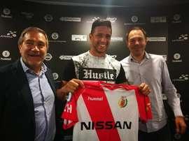 Bruno Vinicius estuvo cuatro años en las categorías inferiores del Madrid. CELHospitalet