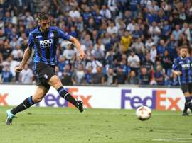 Ainda este domingo, Cristante apontou um golo a Buffon. Twitter/AtalantaBC
