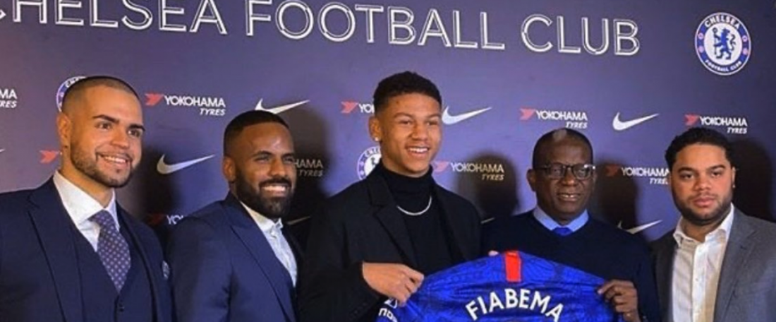 O norueguês, Bryan Fiabema jogará no Chelsea. ChelseaYouth