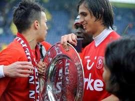 El Twente descendió a Segunda. AFP