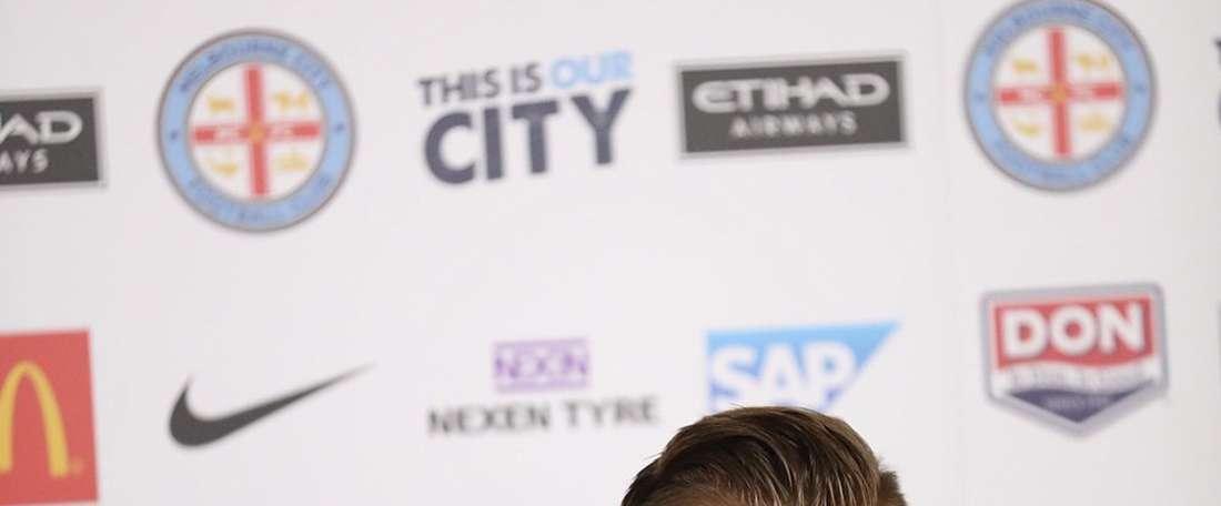 Budzinski, nuevo jugador del Melbourne City. MelbourneCity