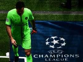 Buffon pode estar de saída do PSG. AFP