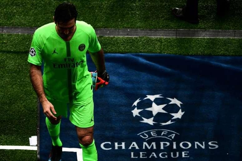 Buffon potrebbe lasciare il PSG. AFP